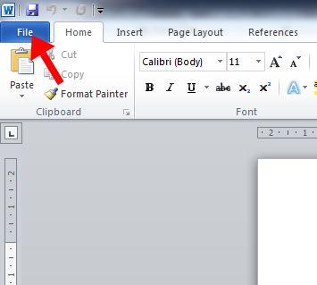 tab file word