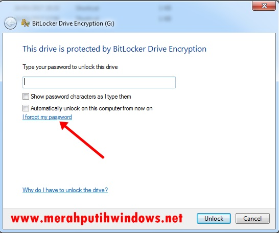 unlock bitlocker