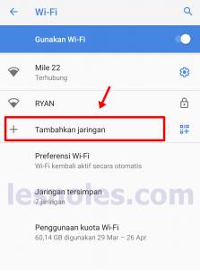 Cara Manual Terhubung Ke Wifi Yang Hidden/Disembunyikan