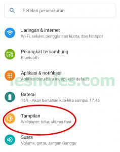 Cara Mudah Ubah Ukuran Font di Nokia 6.1 Plus Tanpa Aplikasi Tanpa Root