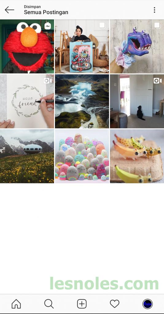 Cara Simpan/Bookmark Postingan Orang Lain di Instagram Agar Bisa Dilihat Kembali