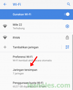 Cara Mudah Mengetahui Password Wifi Yang Pernah Terhubung di Android