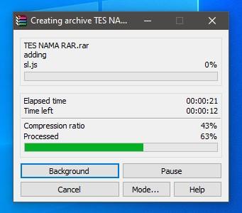 Cara Mudah Buat File & Folder Menjadi RAR