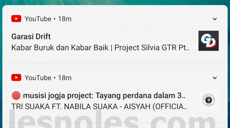 Cara Menyembunyikan Notifikasi di Layar Kunci Android