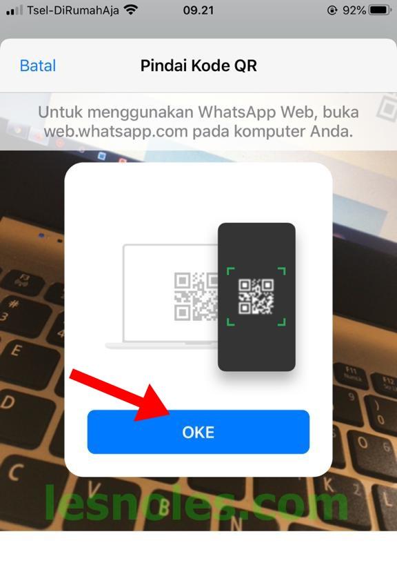 Cara Menggunakan WhatsApp Web Iphone di Laptop/Komputer