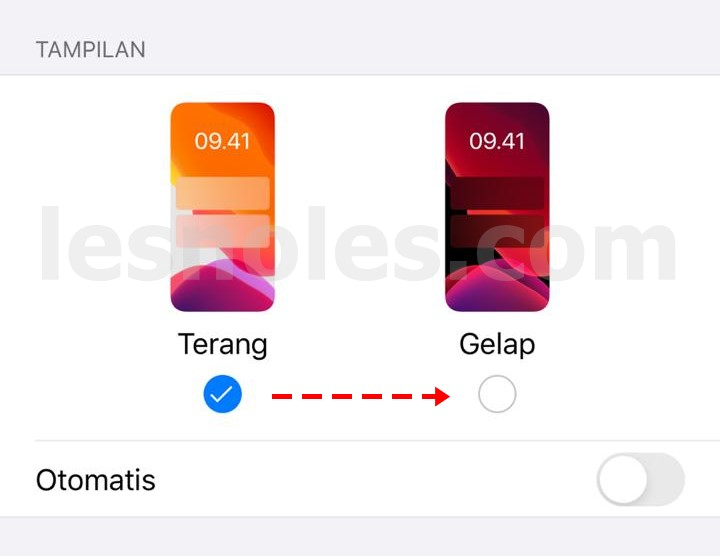 Cara Mudah Aktifkan Tampilan Dark Mode di Iphone 7 Plus