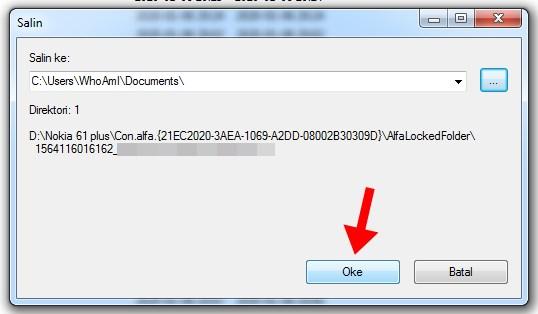 Cara Mengatasi Error dan Lupa Password Alfa Folder Locker