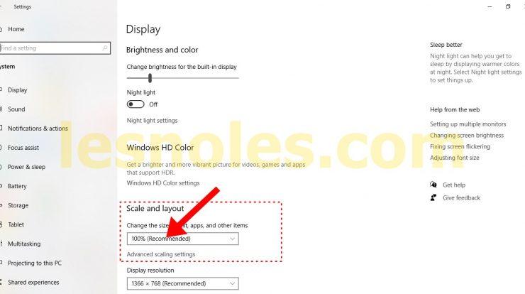 Cara Mudah Memperbesar Ukuran Font Huruf di Windows 10