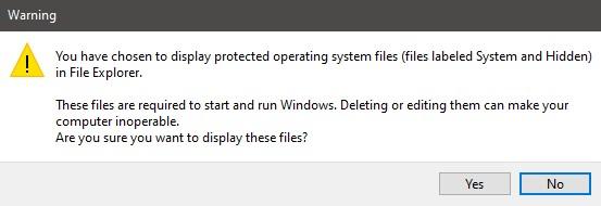 Cara Menampilkan Hidden Files, Folders dan Drives di Windows 10